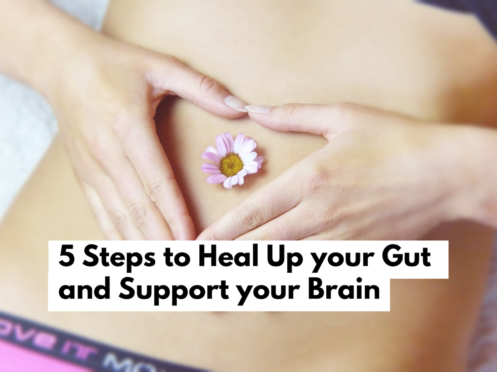 5 Steps to Heal up your Gut and Support Your Brain!